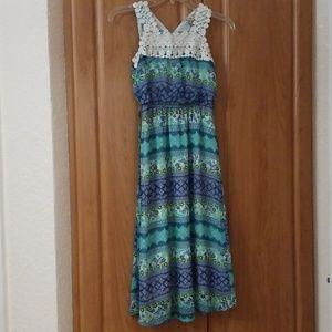 A beautiful dress for girls.